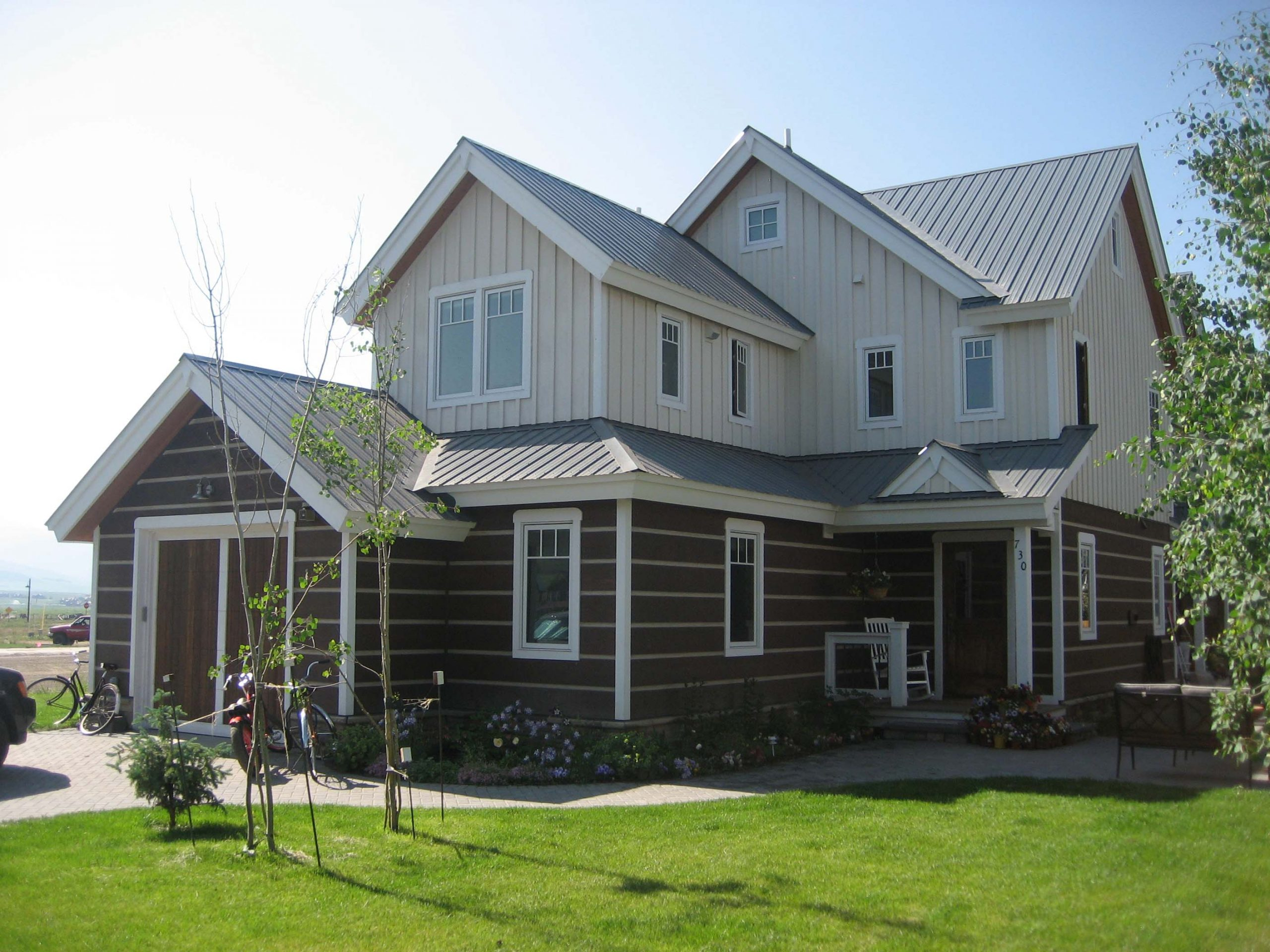 Barney Home building in Crested Butte